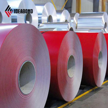 IDEABOND high quality building material color coated aluminum sheet metal roll prices