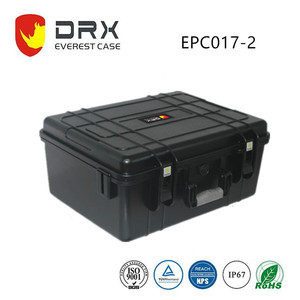China DRX electronic protective plastic hard drive instrument protective carrying case