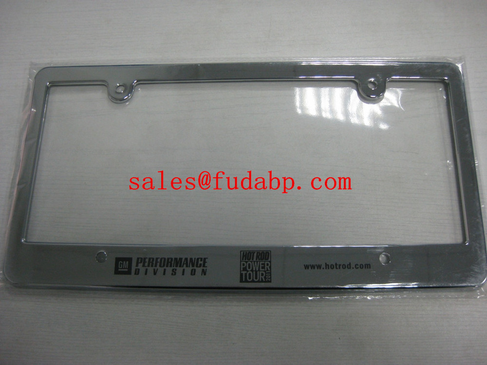 European License Plate Frames,car license plate cover,plastic chrome plate frames