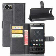 Leather Wallet accessories Cover Case for Blackberry keyone Mercury DTEK70 with card solt