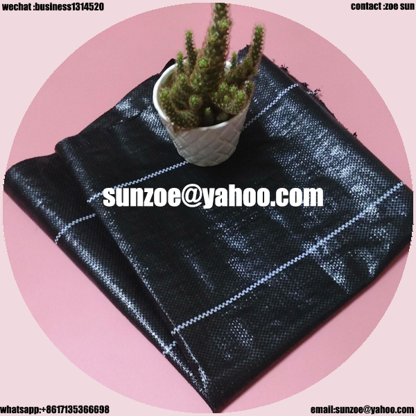 Factory supply agricultural used weed mat with best quality and low price