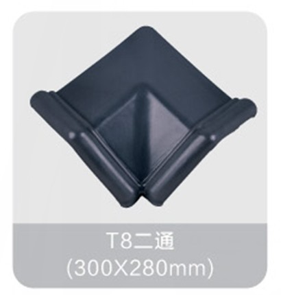 High quality Two way/three way/four way ceramic roof tile accessories