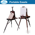 in stock portable three-legged wooden sketch box easel French easel box
