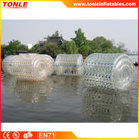 clear Inflatable water Rolling Ball/ inflatable water roller ball