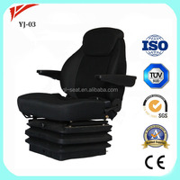 Volvo air suspension truck driver seat with air compressor