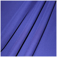 2016 popular 100% Polyester 75D moss crepe fabric for evening dress