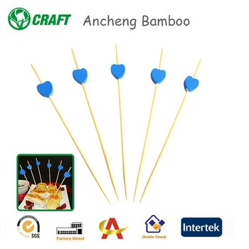 Party food ball bamboo skewers and toothpicks for sales
