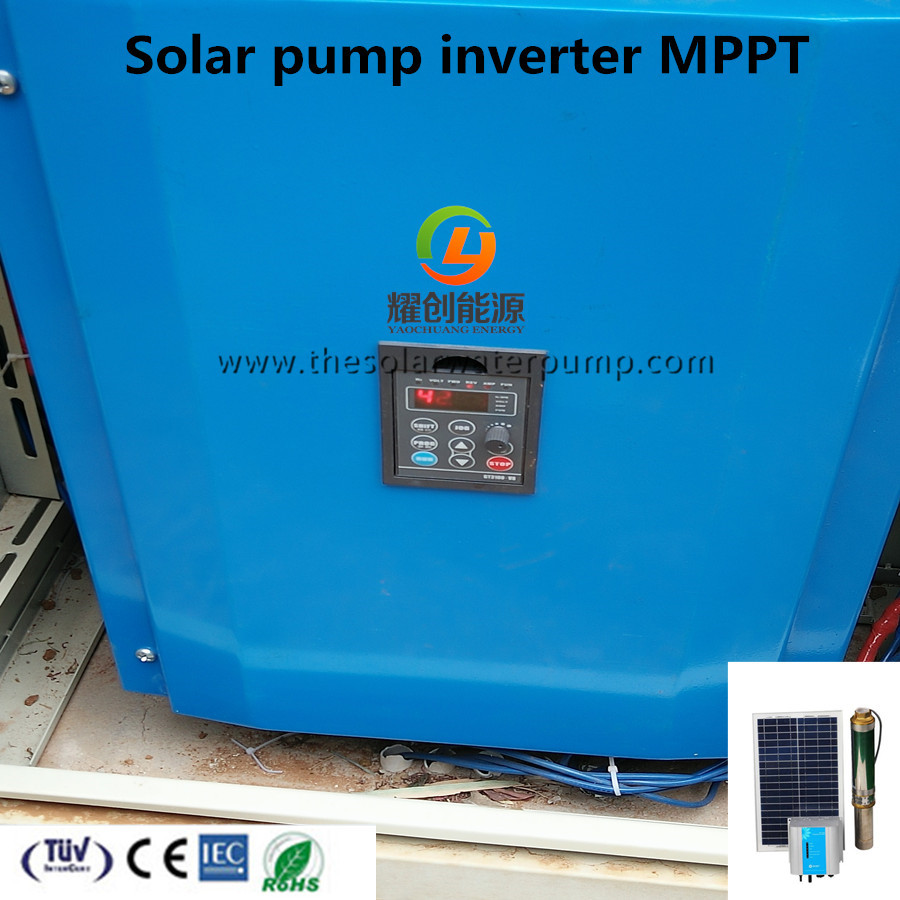 380V 3phase speed control variable frequency drive 2.2Kw solar pump inverter
