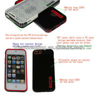 TPU Combo cell Phone Case For IPhone 5