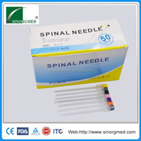 Sinorgmed Pencil Point Spinal Needle With Introducer Needle