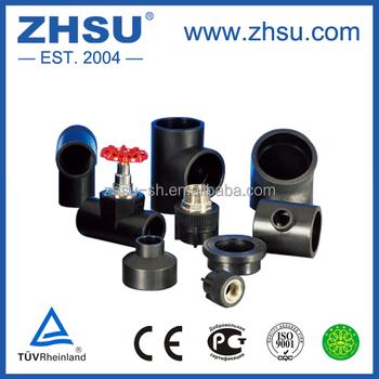 Zhsu Factory Pp Ldpe Hdpe Plastic Raw Materials Fittings