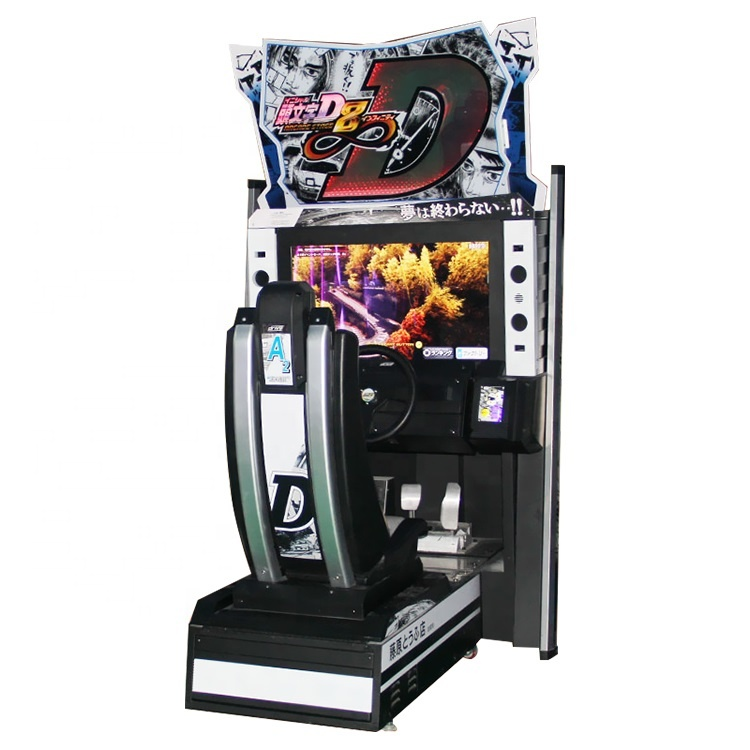 Initial <strong>D</strong> video arcade game racing amusement machine