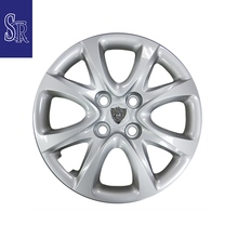 Silver universal 14 inch rims wheels ABS car wheel cover made in Taiwan