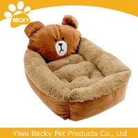 Yiwu becky pet lovely bear pet bed house