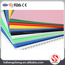 Top quality PP Corrugated Plastic Sheet plastic honeycomb sheet