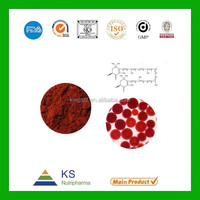 100% natural Astaxanthin 5% CAS No: 472-61-7 Plant Extract