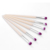 2018 hot slim makeup brushes ! private label 6pcs professional eye cosmetic make up brushes set