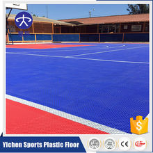 Hot Sales Professional Temporary PP Interlocking Tiles Outdoor Basketball Court Flooring