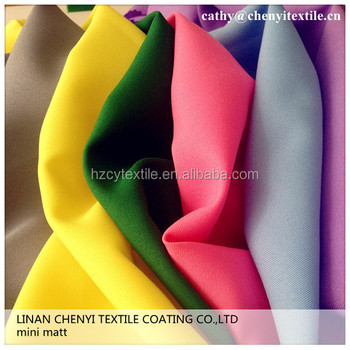 240g polyester mini matt fabric