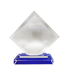 High Quality Crystal Polished Trophy Award Crafts For Business Gift