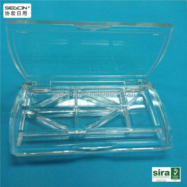 High clear mini plastic acrylic makeup case