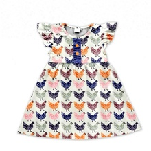 New cartoon design clothes lovely summer baby Clothing Set little chicken hot sale girl outfits