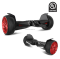 UL2272 Self-Balancing racing hammer HoverBoard,All-Terrain 8.5''Alloy Wheel with 400W Dual-Motor,Solid rubber tires,LG battery