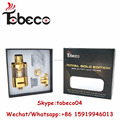 Tobeco Best selling mini super tank gold wholesale price super tank mini gold coil supertank