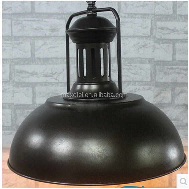 American retro style iron hammered pendant light for interior decoration