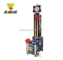 Hot sale product king of the hammer hitting game machine arcade games