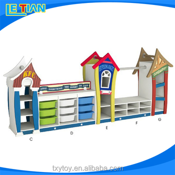 Hot selling Children Furniture Toy Cabinets LT-2149B