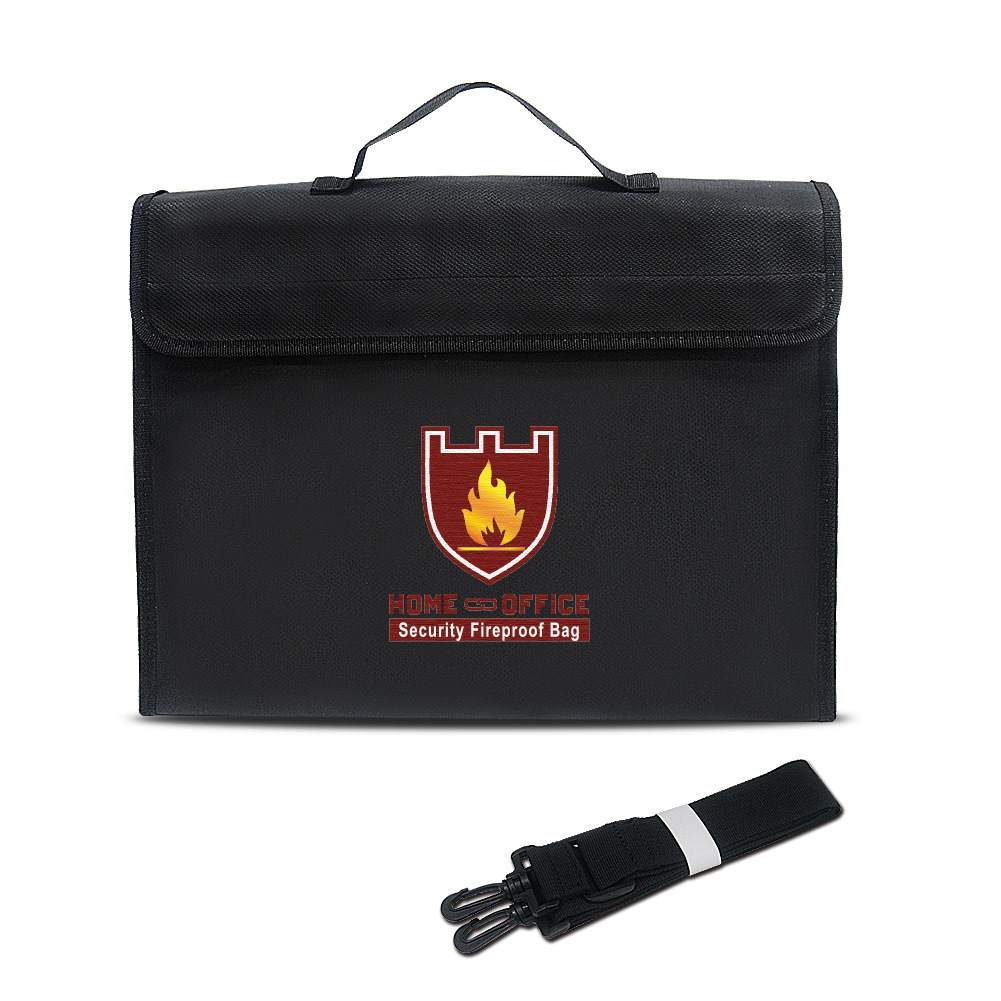 Fire resistant silicone coated fiberglass fireproof bag for toys and lipo battery chargers