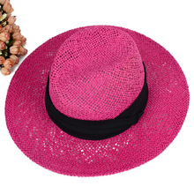 Energy Saving And Safe Women Beach Hats Fashion Floppy Straw Hats