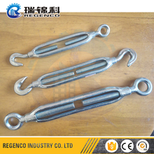 Open Body Die Forged Electro Galvanized TurnbuckleJapanese JIS Frame Eye Hook Turnbuckle