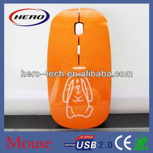 High-tech cpi resolution 2.4g wireless mouse