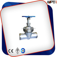 Stainless Steel Butt Welded Gate Valve