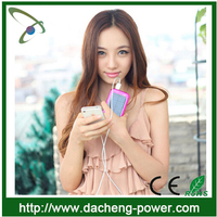 Wholesale 3500mAH solar battery charger 5.5v solar car battery charger with colorful design
