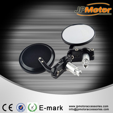 Wholesale motorcycle rear view mirror, universal motorcycle black / chrome cnc aluminum alloly side mirror 7/8''