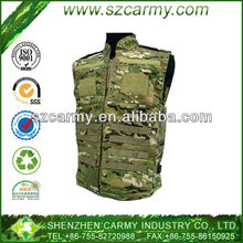 Outdoor Use 65% Cotton 35% Polyester Twill Adjustable Combat CP Ranger Equipment Vest