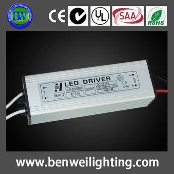 waterproof 70w led driver with good heat dissipation