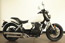 The new generation of popular,classical and large power 125cc gas motorcycle NEW MUFFLER