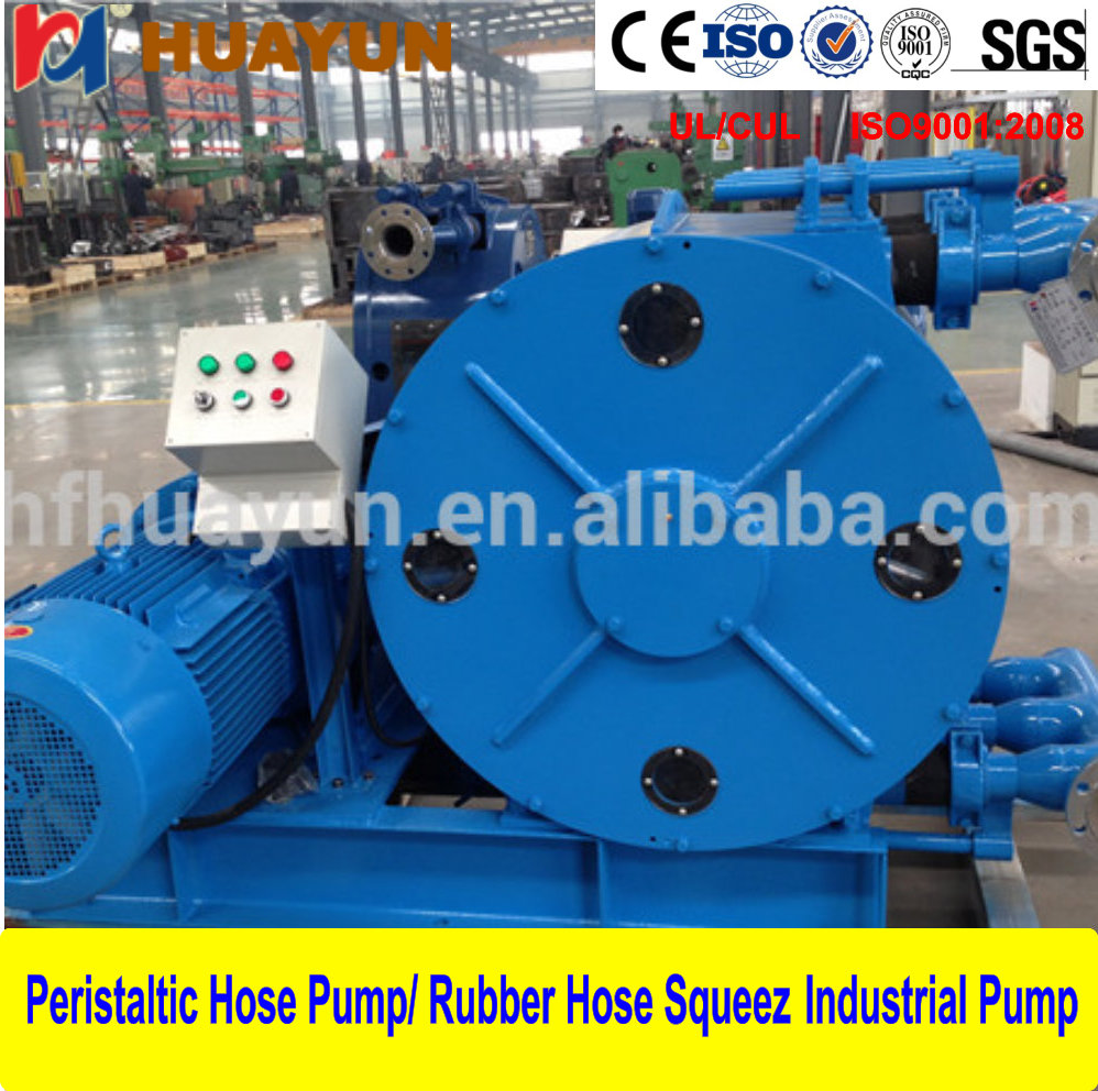 Smelting Industrial Metal Leaching Fluid Transfer Peristaltic Pump High quality Peristaltic Hose Pump
