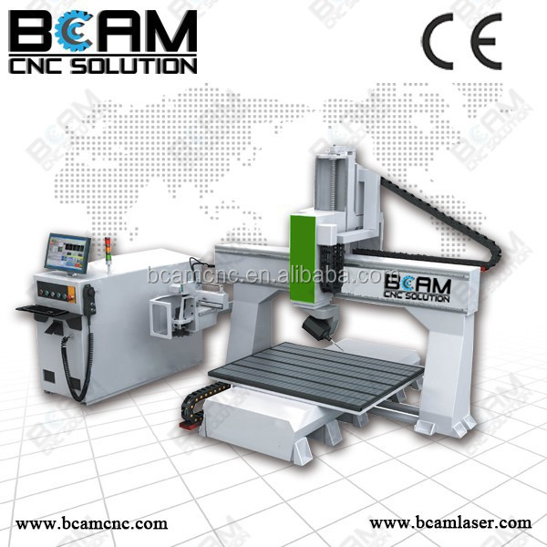BCMCNC! cnc lathe machine 5-axis for casting mold, automobile
