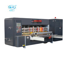 carton box making machine automatic high speed corrugated box rotary die cutting and creasing machine