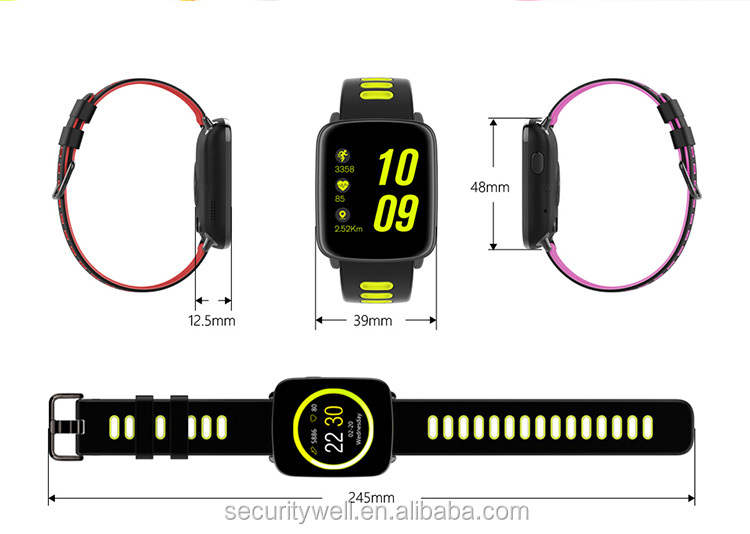 2017 IP68 real Waterproof Swimming Heart rate Watch