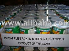 CANNED PINEAPPLE FROM THAILAND AT MOST COMPETITIVE PRICE