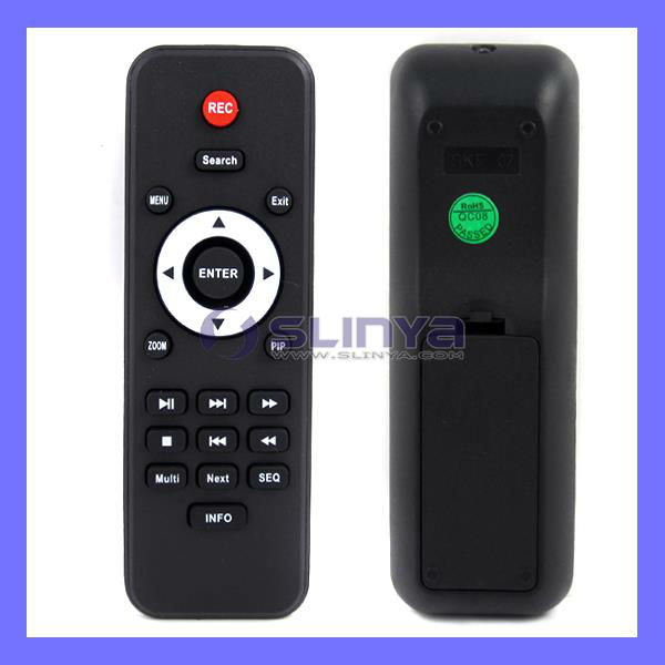 All in One Infrared Car DVD Remote Controller For TV Speaker