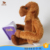 customize plush monkey toy with banana and book