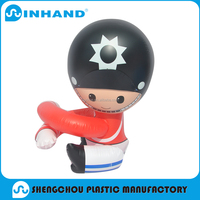 top selling mini and cute inflatable soldier-shaped promotion toy
