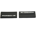 Cheap custom soft rubber PVC embossed logo side seam label